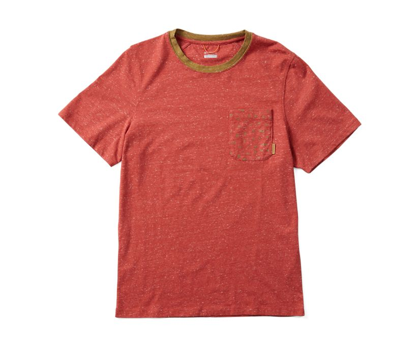 Trailhead Short Sleeve Tee, Bossa Nova Heather, dynamic
