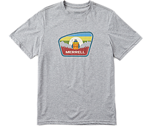 Camper Short Sleeve Tee, Grey Heather, dynamic