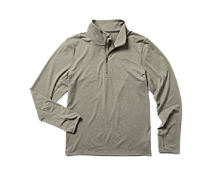 BetaTherm 1/4 Zip, Lichen Heather, dynamic