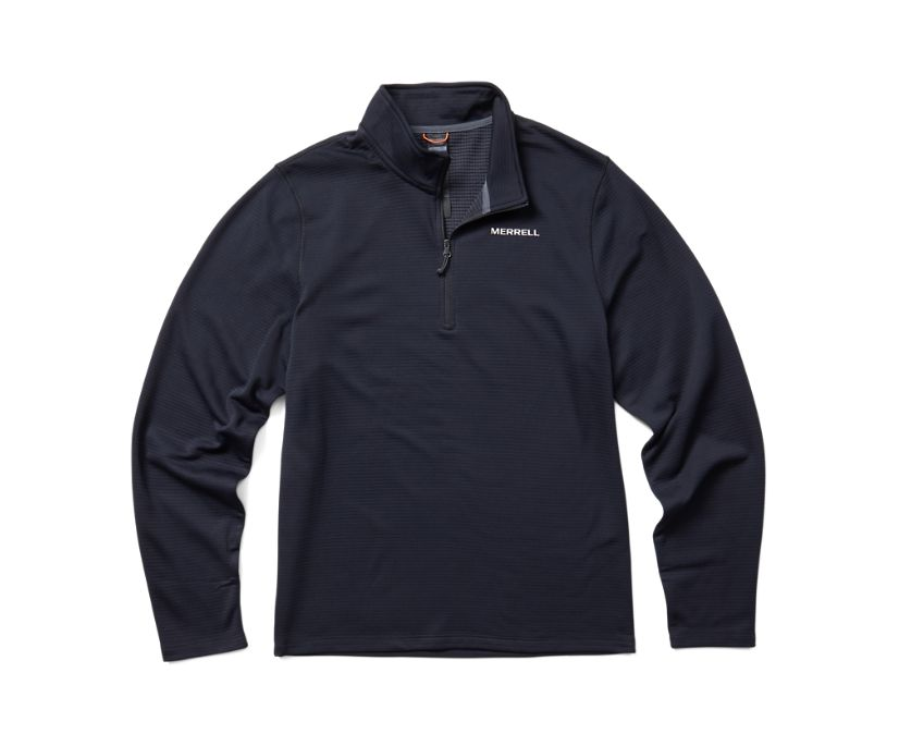 Terrain Geotex 1/4 Zip, Black, dynamic