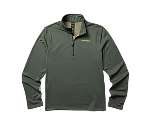 Terrain Geotex 1/4 Zip, Forest, dynamic