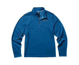 Terrain Geotex 1/4 Zip, Blue, dynamic