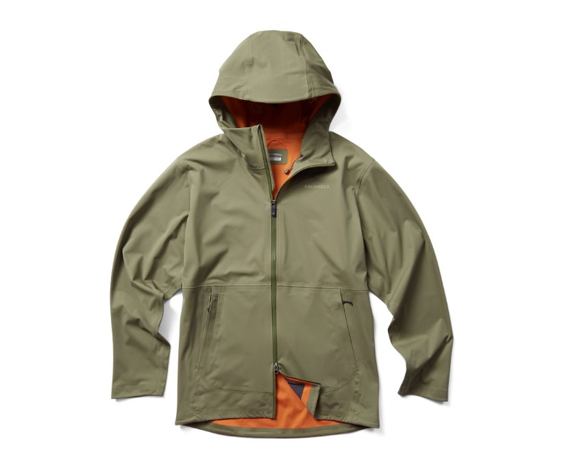 Whisper Rain Jacket, Lichen, dynamic