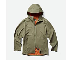 Whisper Rain Jacket, Lichen, dynamic