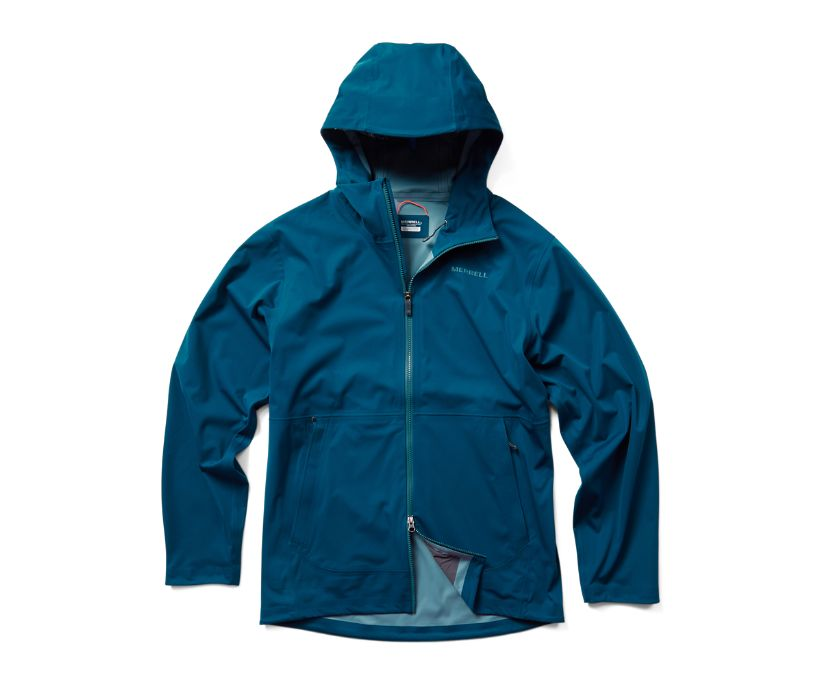 Whisper Rain Jacket, Poseidon, dynamic