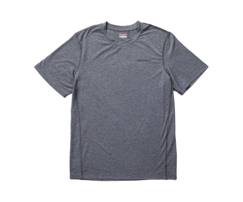 Tencel™ Short Sleeve Tee, Asphalt Heather, dynamic