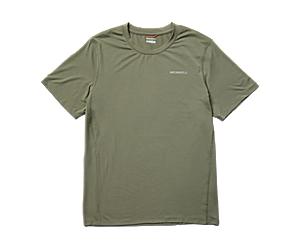 Tencel™ Short Sleeve Tee, Lichen, dynamic
