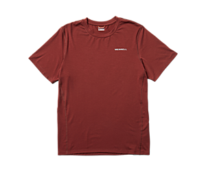 Tencel™ Short Sleeve Tee, Brick, dynamic