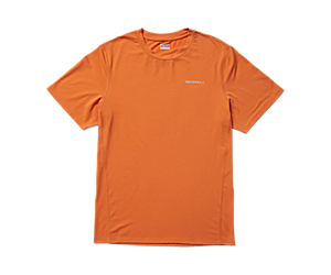 Tencel™ Short Sleeve Tee, Apricot, dynamic