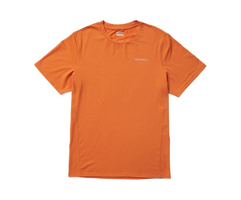 Tencel™ Short Sleeve Tee, Apricot, dynamic