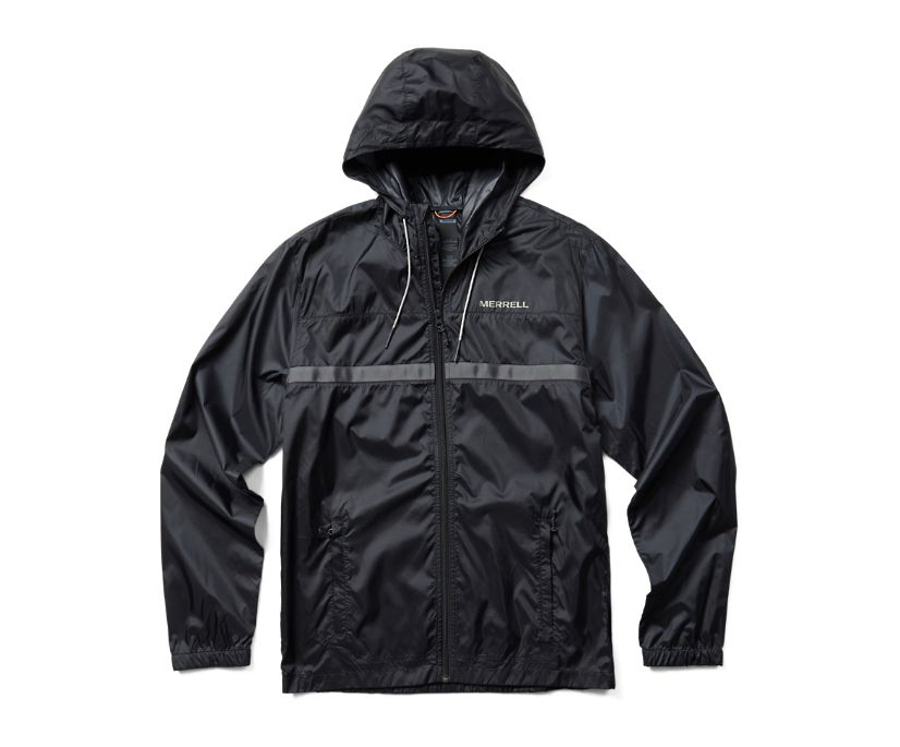 Terrain Colorblock Wind Shell, Black, dynamic