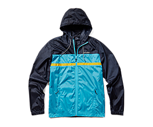 Terrain Colorblock Wind Shell, Navy/Atoll, dynamic