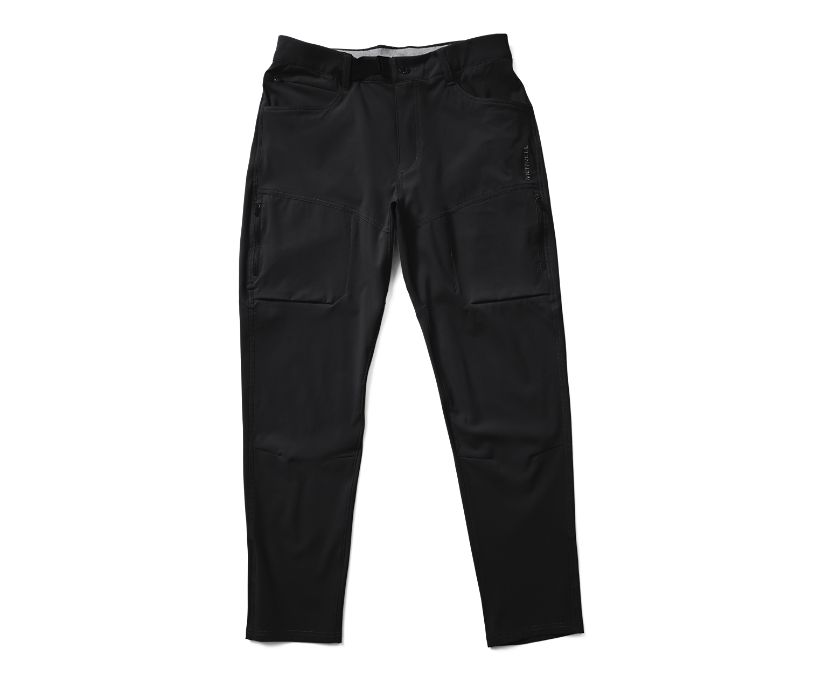 Wayfinder Active Tech Pant, Black, dynamic