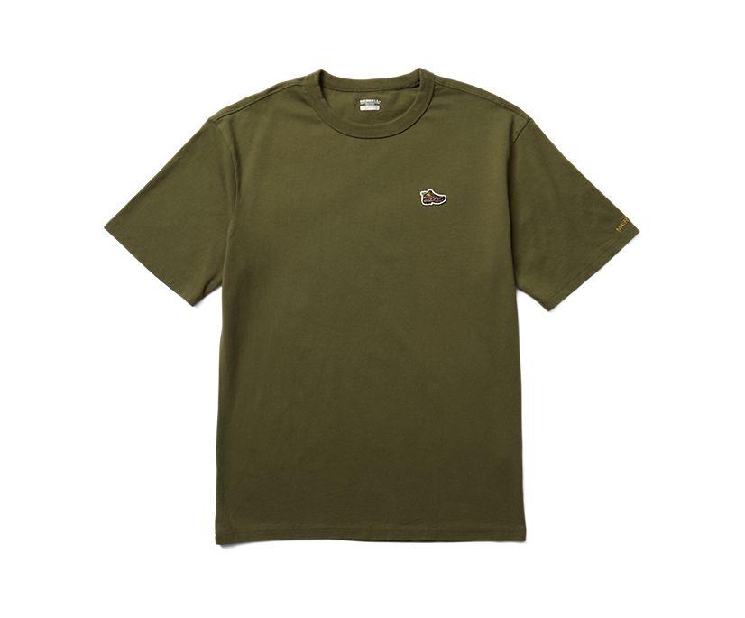 Moab Icon Tee, Dusty Olive, dynamic