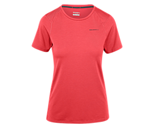 Tencel® Short Sleeve Tee with drirelease® Fabric, Lollipop, dynamic