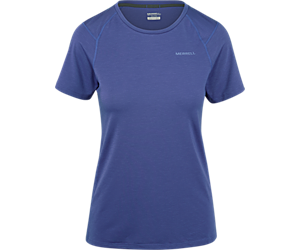 Tencel® Short Sleeve Tee with drirelease® Fabric, Twilight Purple, dynamic