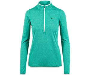 BetaTherm 1/4 Zip Mid-Layer Fleece, Teal Blue Heather, dynamic