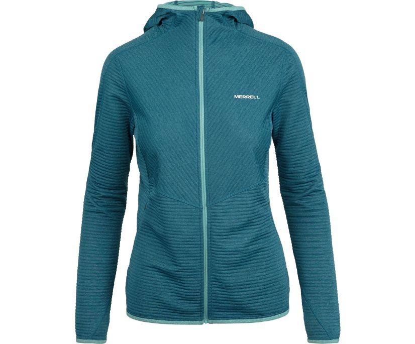 AlphaTherm Full Zip Mid-Layer Fleece, Bering Sea, dynamic