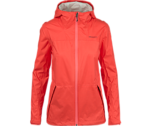 Fallon 4.0 Rain Jacket, Hot Coral, dynamic
