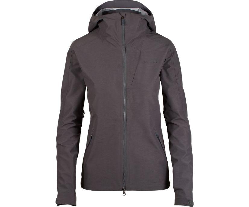 Voyager Non-Insulated Hardshell Jacket, Asphalt Heather, dynamic