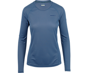 Entrada II Long Sleeve Tech Tee, Velvet Morning, dynamic
