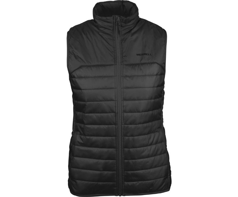 Entrada Insulated Vest, Black, dynamic