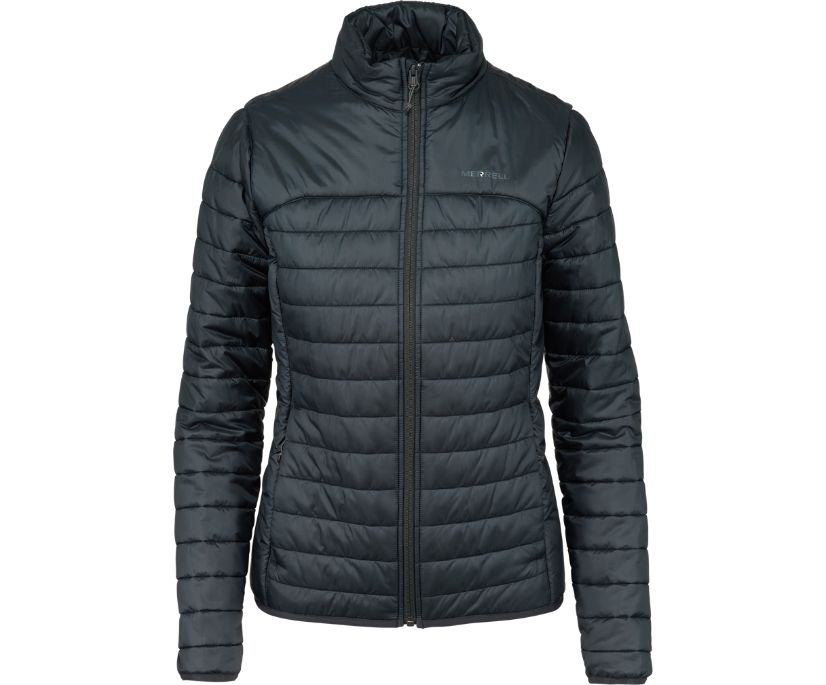 Entrada Insulated Jacket, Black, dynamic