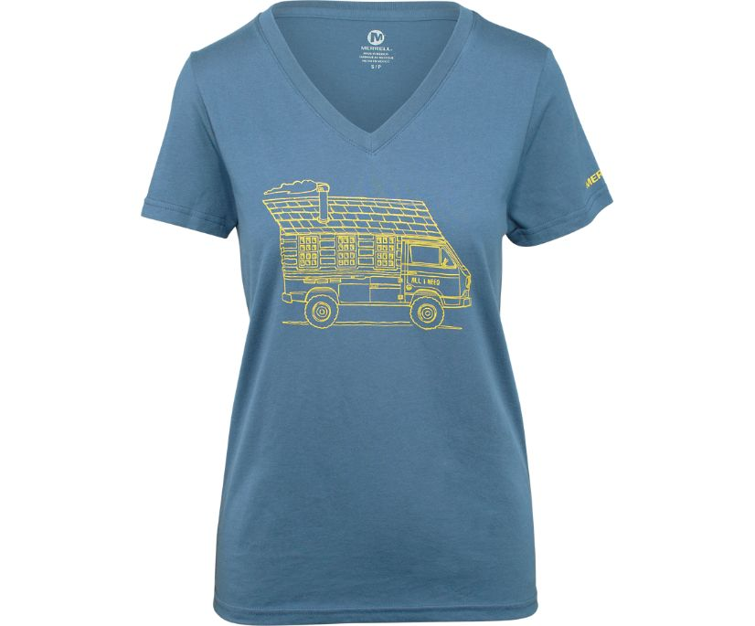 Road Trippin Graphic Tee, Bering Sea, dynamic