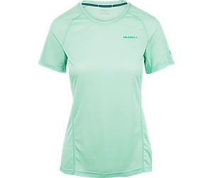 Entrada II Short Sleeve Tech Tee, Eggshell, dynamic