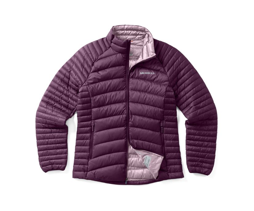 Ridgevent™ Thermo Jacket, Blackberry, dynamic