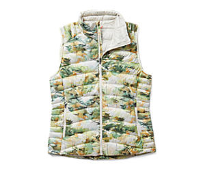 Ridgevent™ Thermo Vest, Chalk Watercolor Print, dynamic