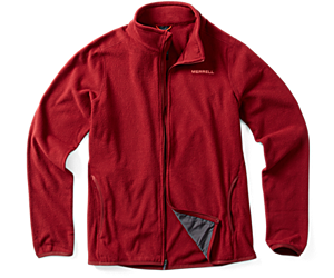Flux Lightweight Hybrid Full Zip Fleece, Syrah, dynamic