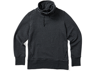 Trailhead French Terry Pullover, Black, dynamic