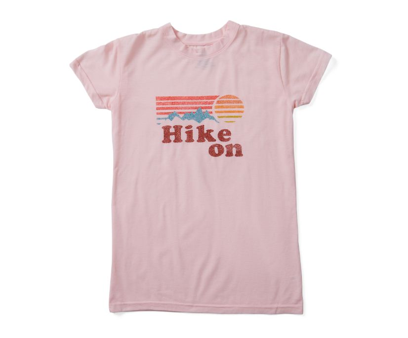 Hike On Tee, Rose Smoke Heather, dynamic