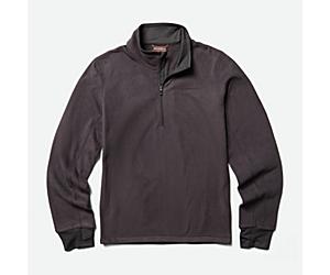Flux Lightweight Hybrid 1/4 Zip Fleece, Asphalt, dynamic