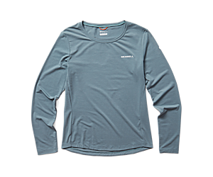 Tencel Long Sleeve Tee, Trooper, dynamic