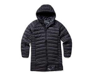 Ridgevent™ Thermo Parka, Black, dynamic