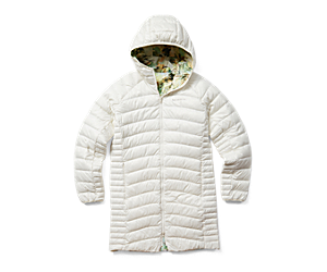 Ridgevent™ Thermo Parka, Chalk Watercolor Print, dynamic