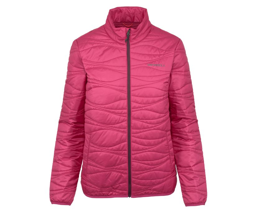 Rainier Insulated Jacket, Fuchsia, dynamic