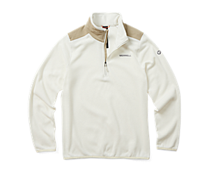 Terrain 1/4 Zip Fleece, Chalk, dynamic