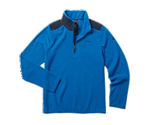 Terrain 1/4 Zip Fleece, Blue, dynamic