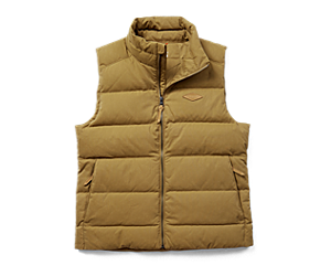 Terrain Cotton Vest, Coyote, dynamic