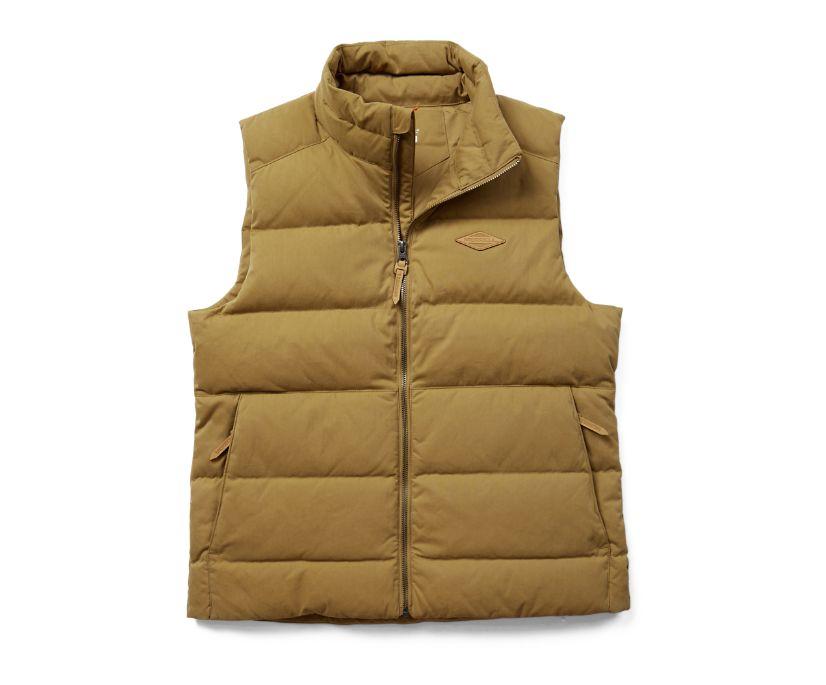 Terrain Cotton Vest, Coyote, dynamic