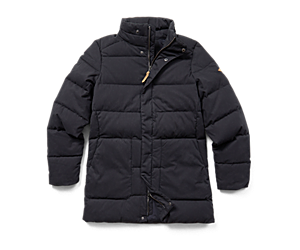 Terrain Cotton Parka, Black, dynamic