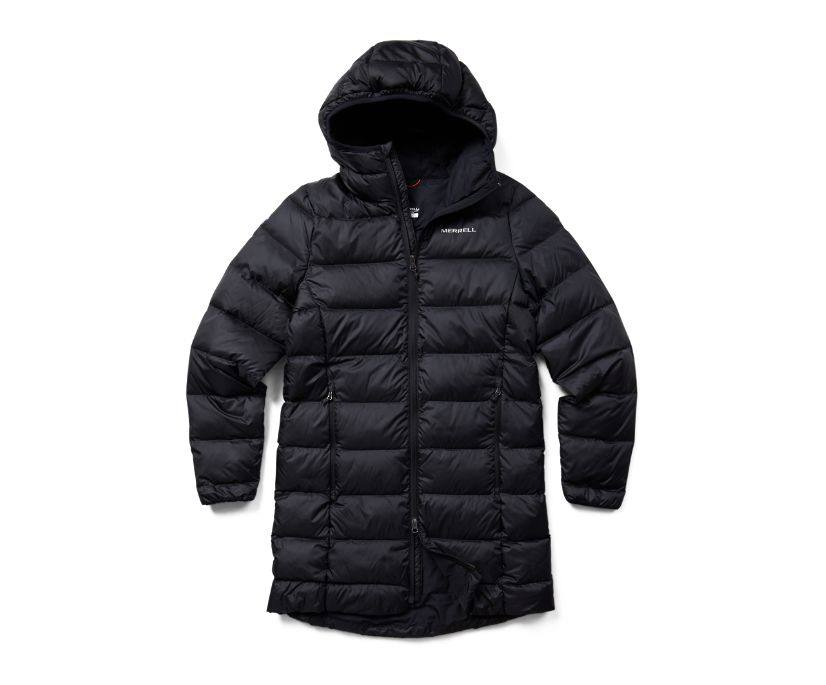 Terrain Glacial Parka, Black, dynamic