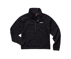 Timber 1/4 Zip, Black, dynamic