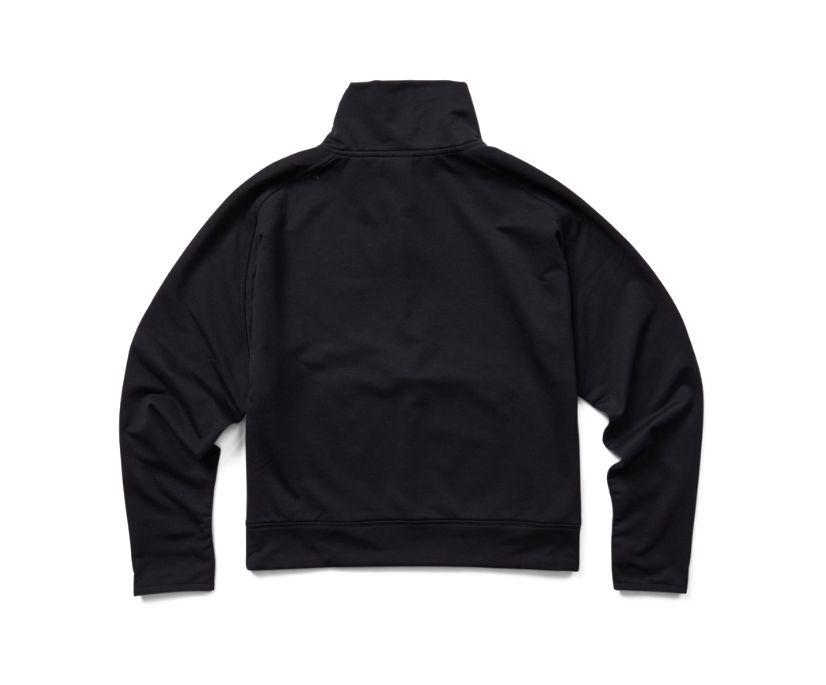 Timber 1/4 Zip, Black, dynamic