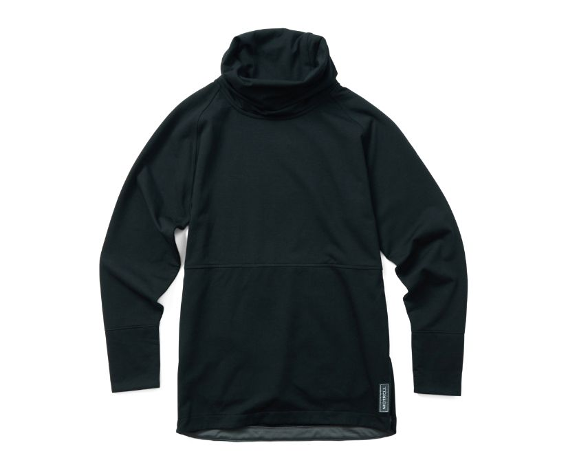 Timber Pullover Tunic, Black, dynamic