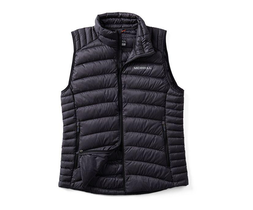 Ridgevent™ Thermo Vest, Black, dynamic