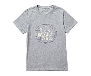 Let's Get Outside Short Sleeve Tee, Grey Heather, dynamic